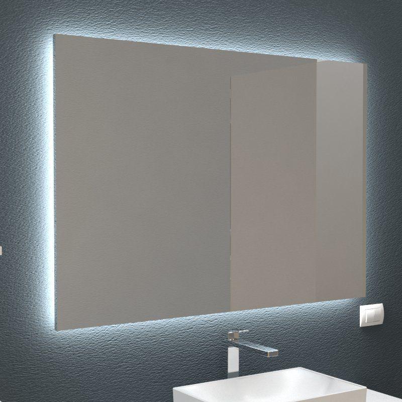 Specchio retroilluminato nel 2018 | MOBILI BAGNO | Pinterest | Bagno ...