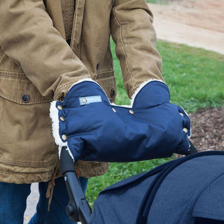 Photo of Anleitung: Kinderwagen-Handschuh nähen