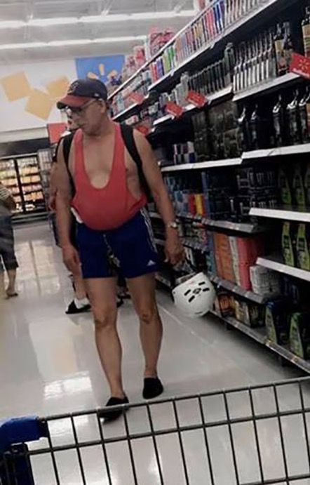 358b8517685f4 Maternity Tank Tops for Dad at Walmart | Funny | People of walmart ...