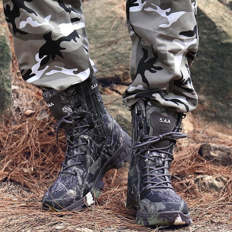 Non Slip Combat Shoes Waterproof Boots