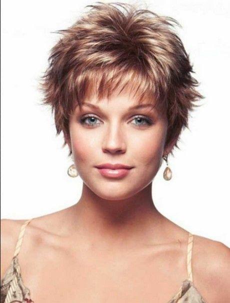 Bilder Kurzhaarschnitt Damen Rundes Gesicht Wowcom