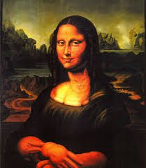 optical illusion illusions famous paintings google hidden mona lisa cool mexican