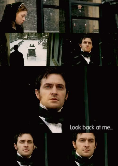 """Richard Armitage in North and South.  """"Look back at me"""".  <3"""