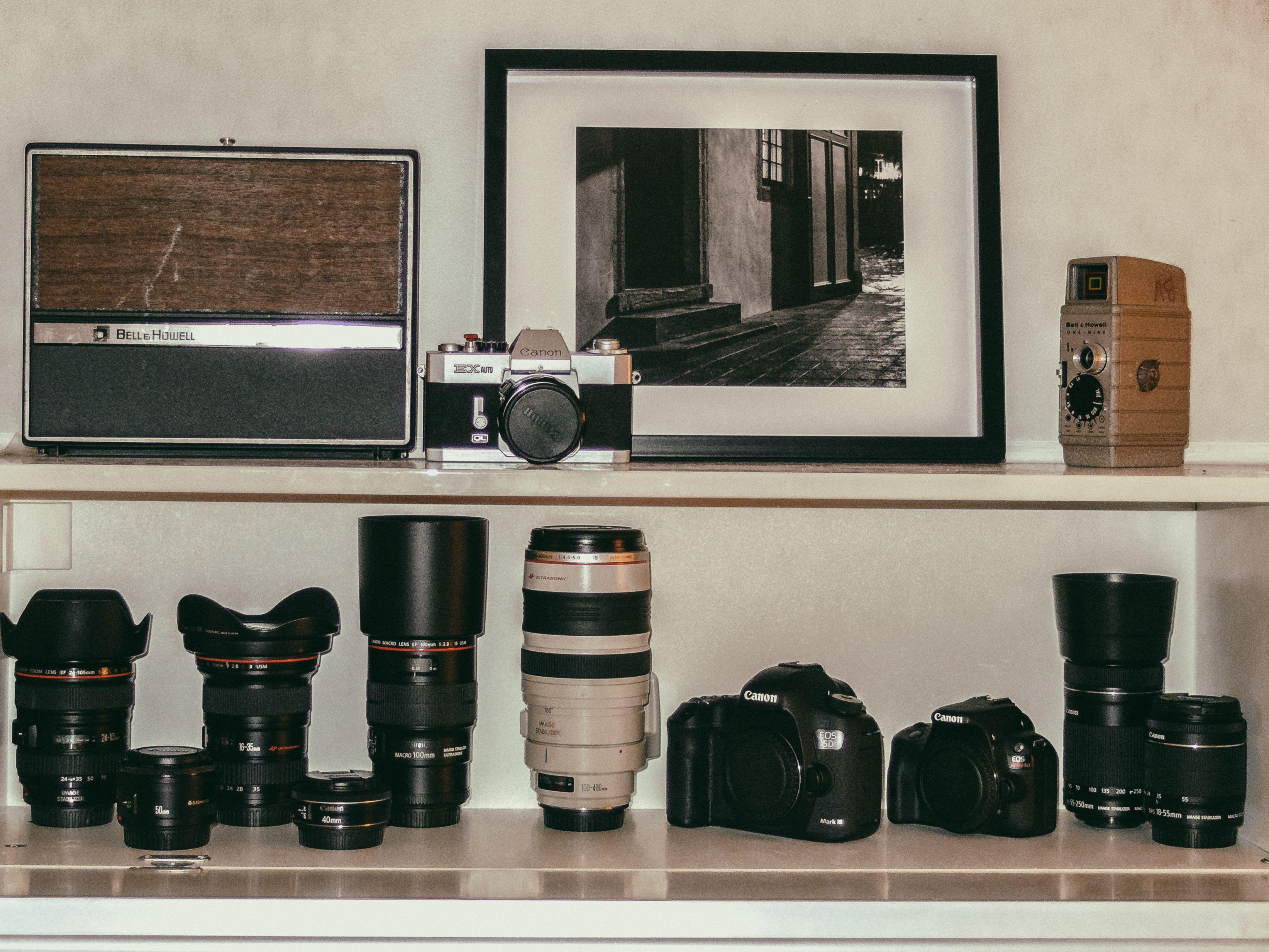 Canon Ef L Lens Ef S 5dmk3 And Sl1 16 35 Mm F 2 8 24 105mm F 4 100mm 2 8 Macro 100 400 Mm Vintage Ex Auto 50mm Home Decor Vintage Decor