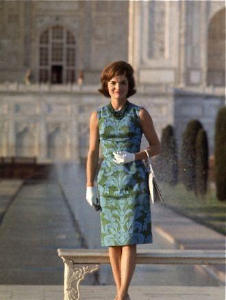 Jacqueline Kennedy Taj Mahal | India | Pinterest