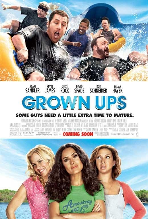 Grown Ups 27x40 Movie Poster 2010 M O V I E S In 2019