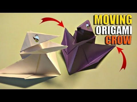 Photo of Origami Paper Talking Crow – Step By Steb Tutorial