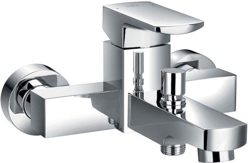 Flova Dekka Wall Mounted Manual Single Lever Bath And Shower Mixer Tap Dewmbsm Shower Mixer Taps Bath Shower Mixer Taps Bathroom Shop