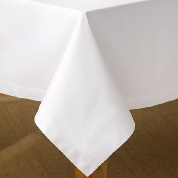 60 X 102 Inch White Tablecloths Rectangle Table Cloths