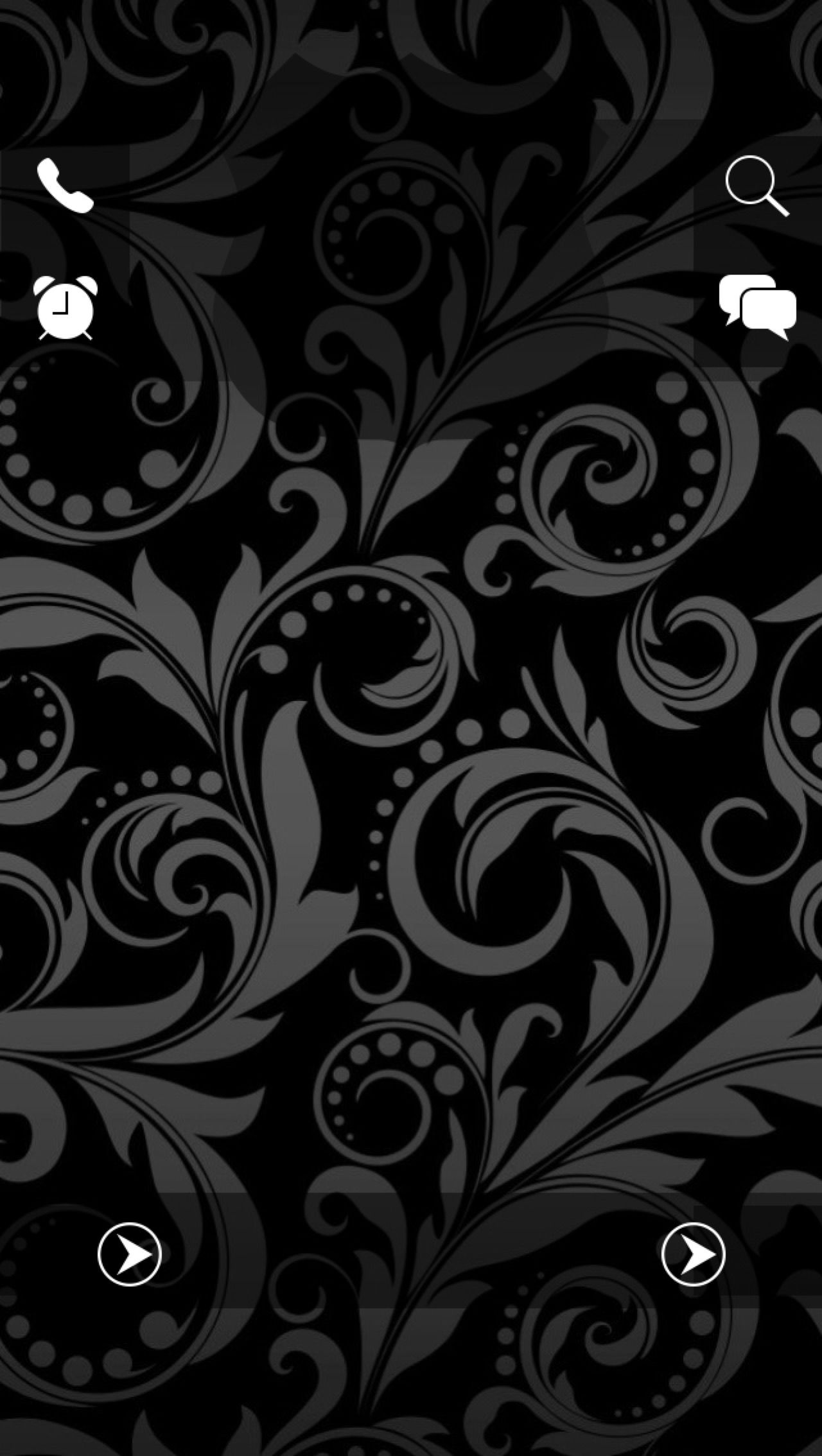 Tap And Get The Free App Lockscreens Pattern Black Grey Art
