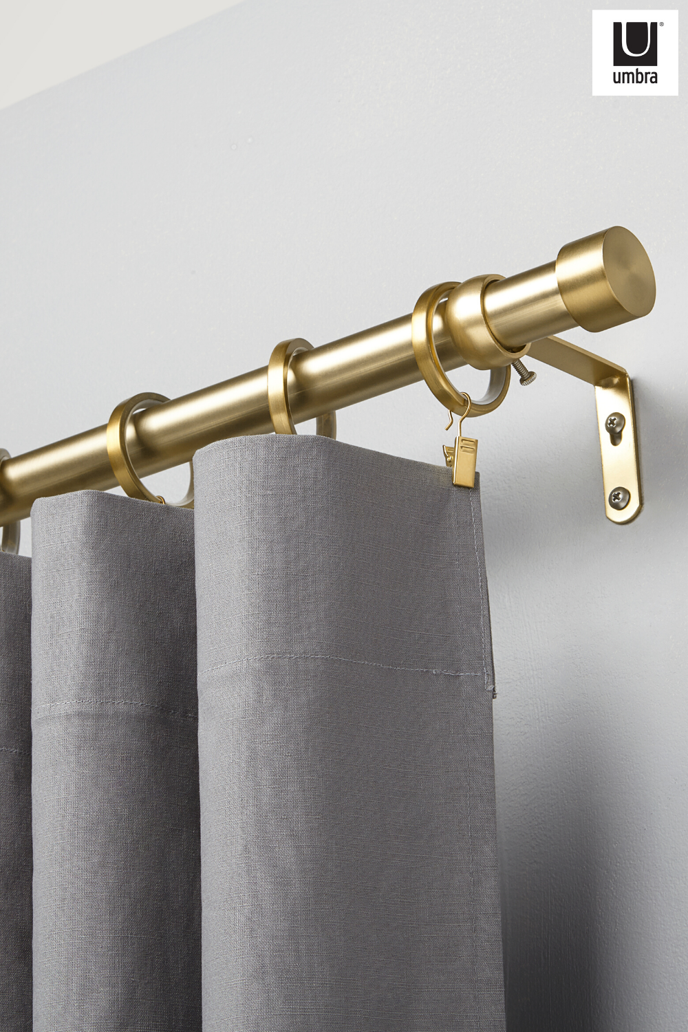 Cappa Curtain Rod In 2020 Curtain Rods Curtains Window Curtains Living Room