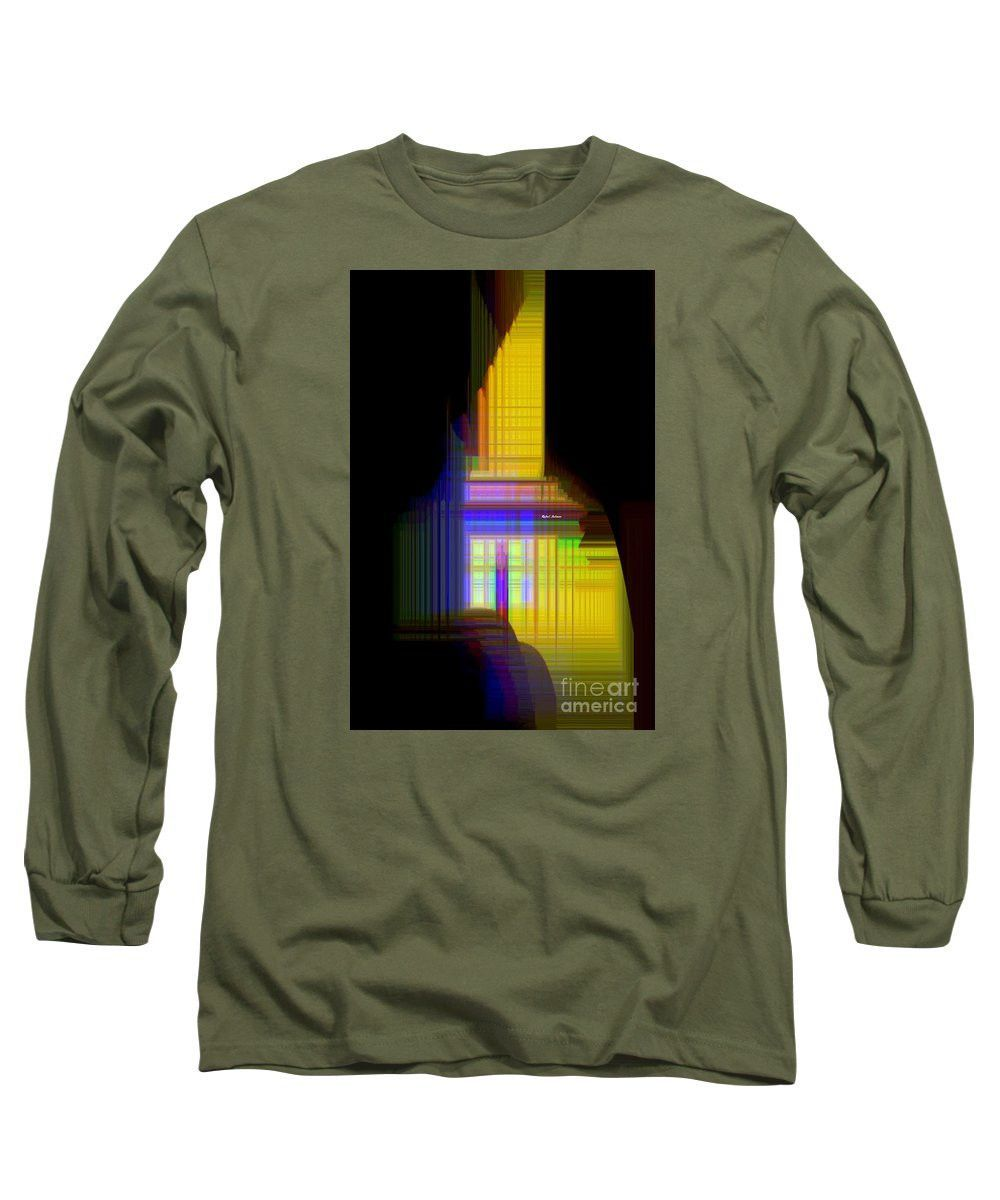 Long Sleeve T-Shirt - Abstract 9593