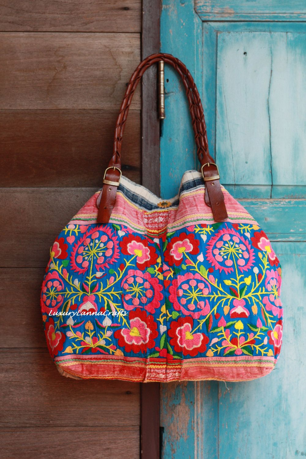Luxury Tribal Ethnic Handmade Tote Bag Etsy
