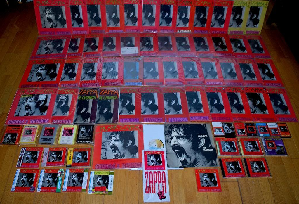 My Zappa vinyl albums collection. :: www.zappateers.com