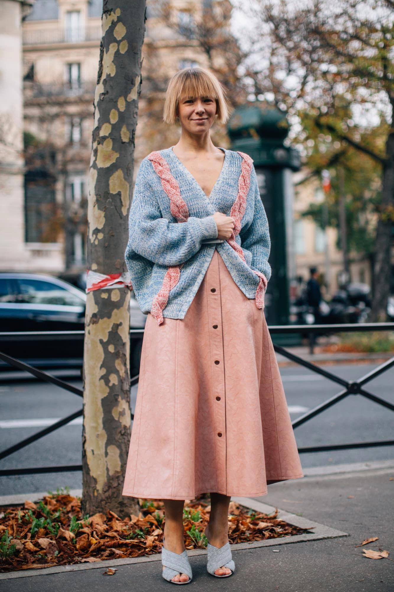The Best Street Style Looks From Fashion Month Spring