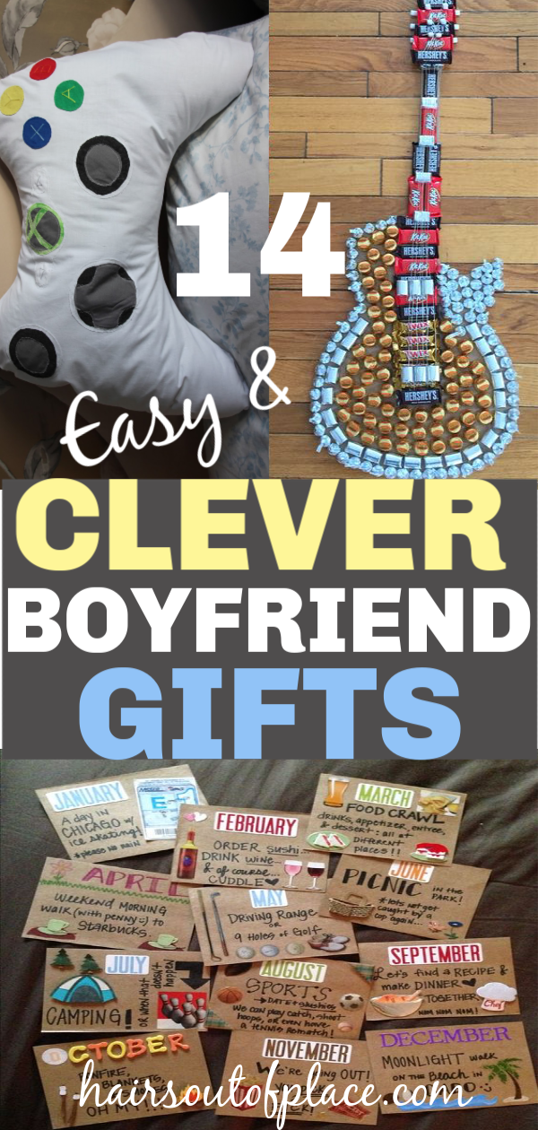 14 DIY Christmas Gifts for Boyfriend