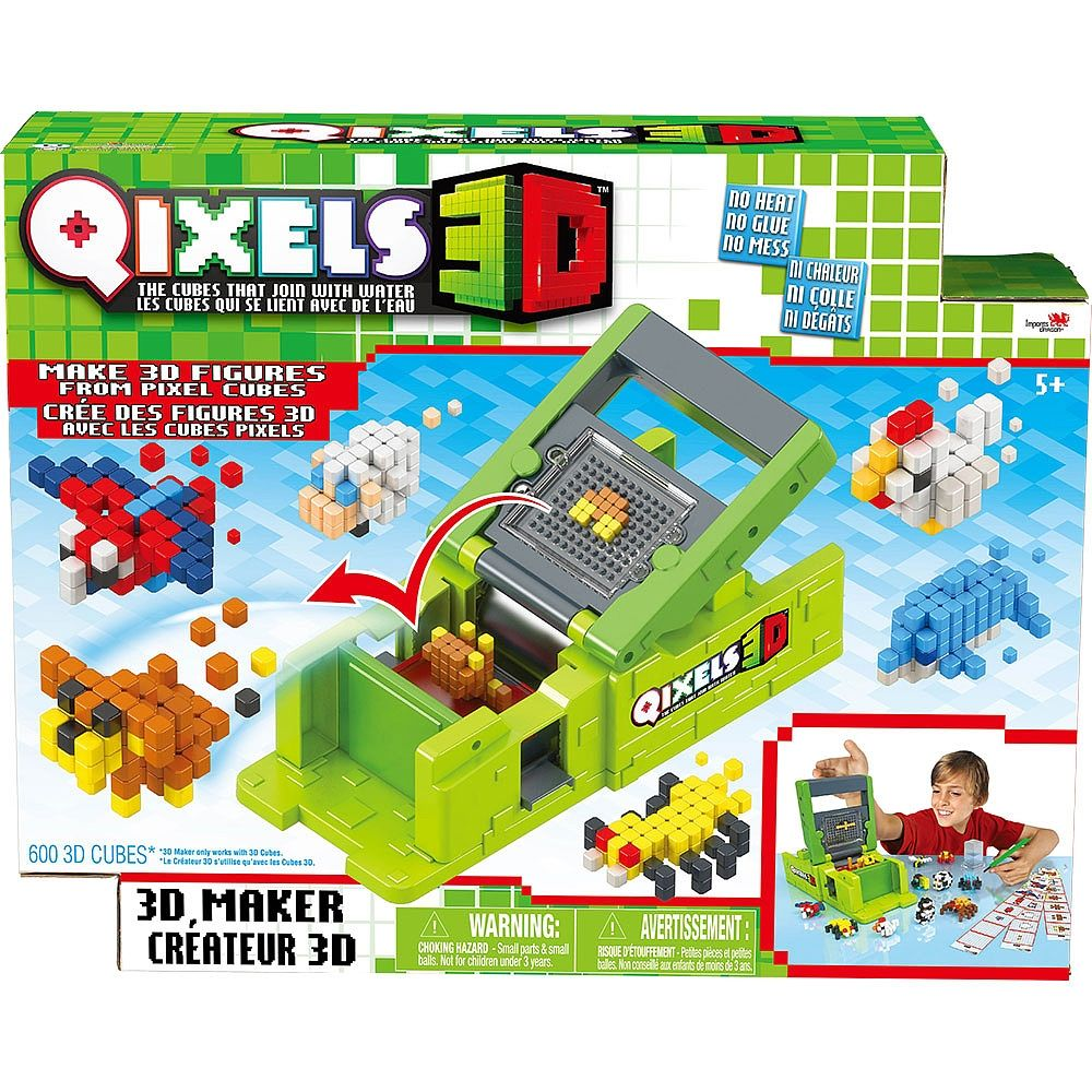 The Power To Build In 3d The Qixels 3d Maker Gives You The Power