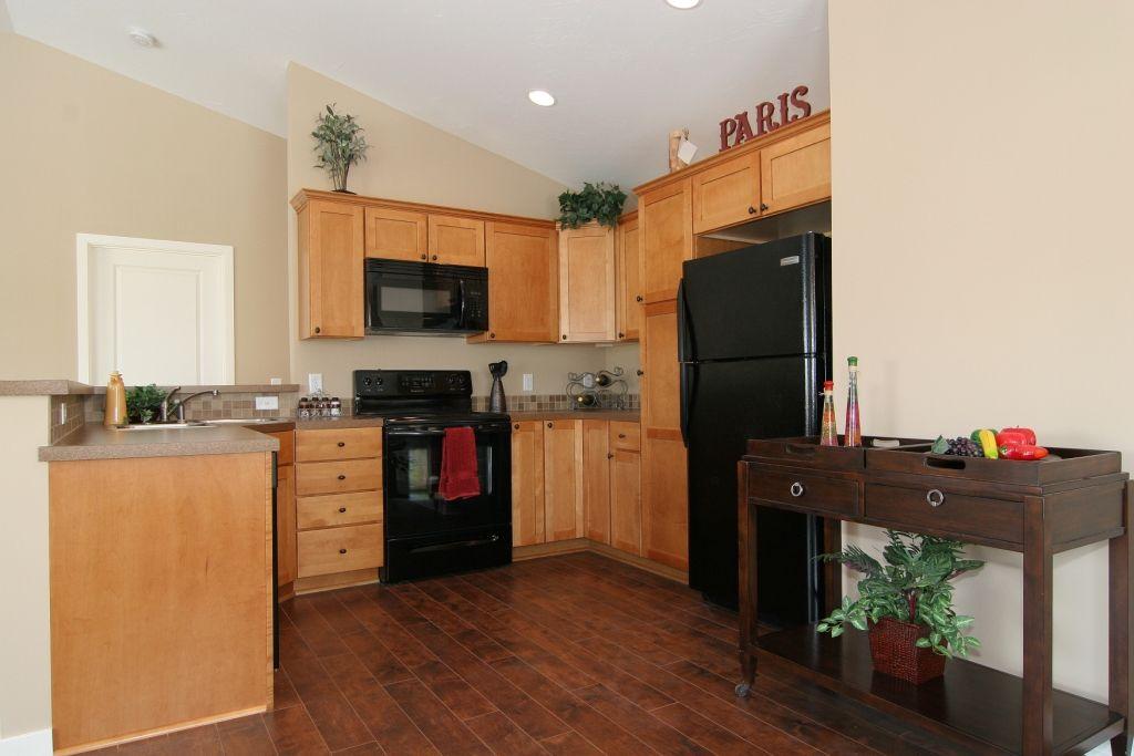 light vs dark wood floors   Dark Wood Floors Light Kitchen ...