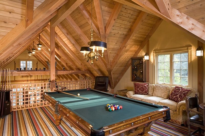 How To Transform Your Attic Into A Fun Game Room | Attic game room ...