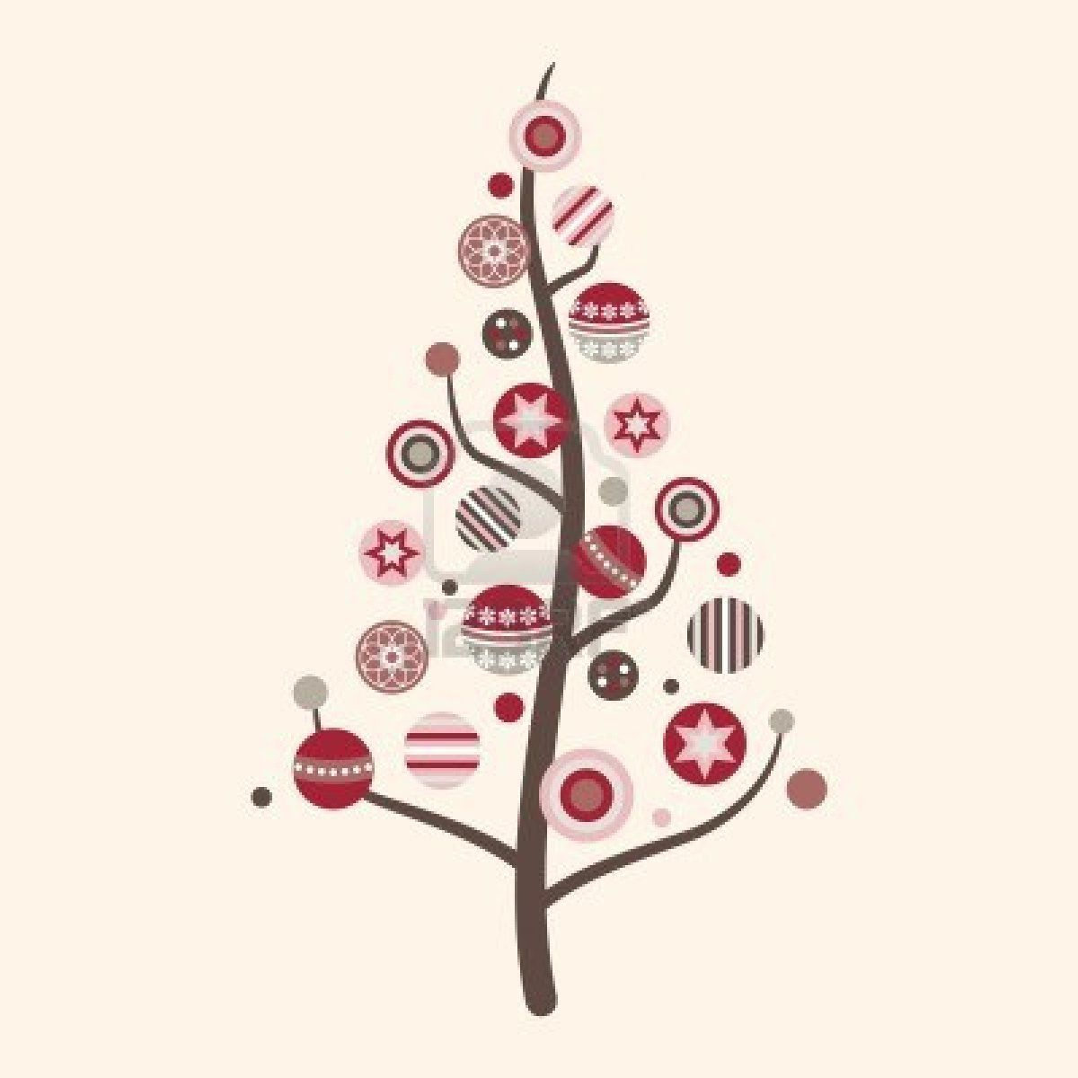 Abstract Christmas Tree Vector In Modern Colors Modern Christmas Tree Christmas Tree Decorations Modern Christmas