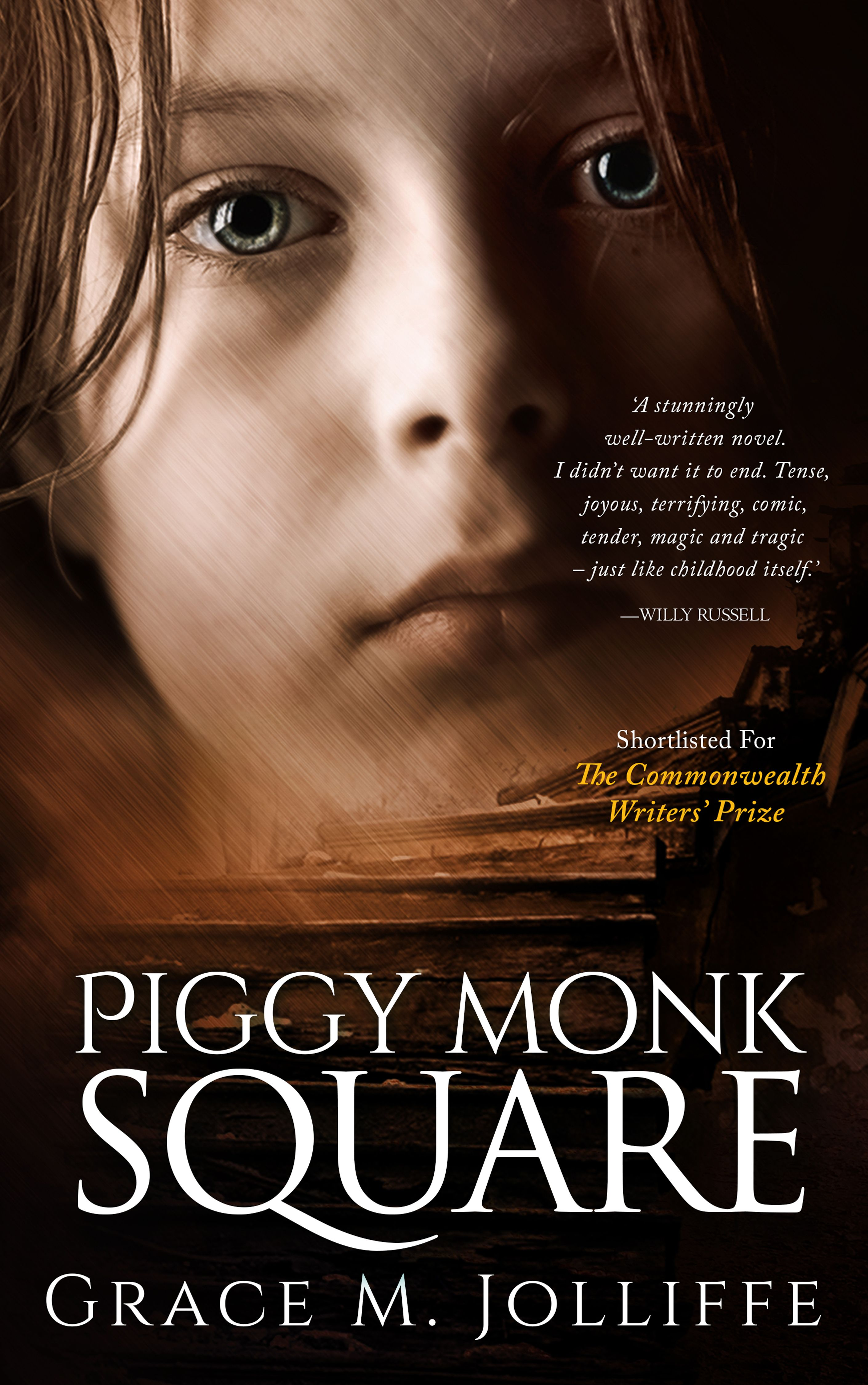 Piggy Monk Square By Grace M Jolliffe Gritty, Dark And Humorous Thriller