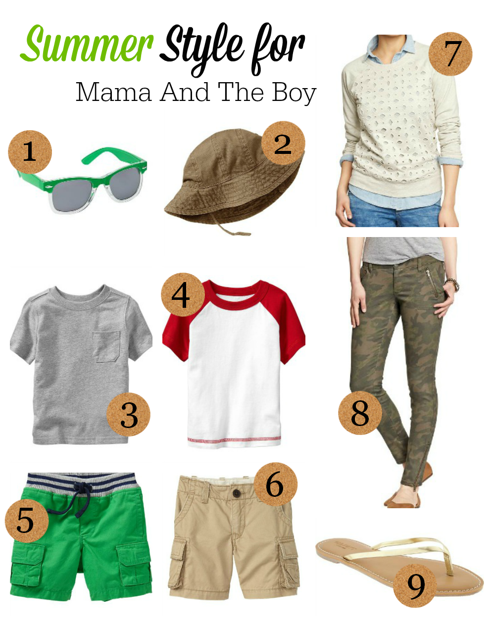 Summer Style Inspiration for Boys & Moms