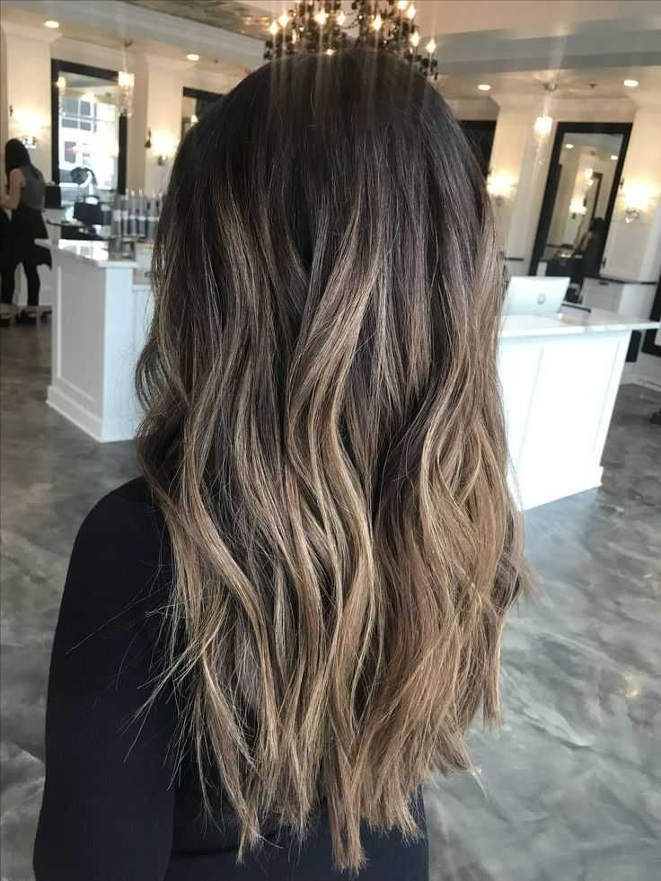 55+ haircuts for brown hair with highlights – #brown # for #hair #haar …