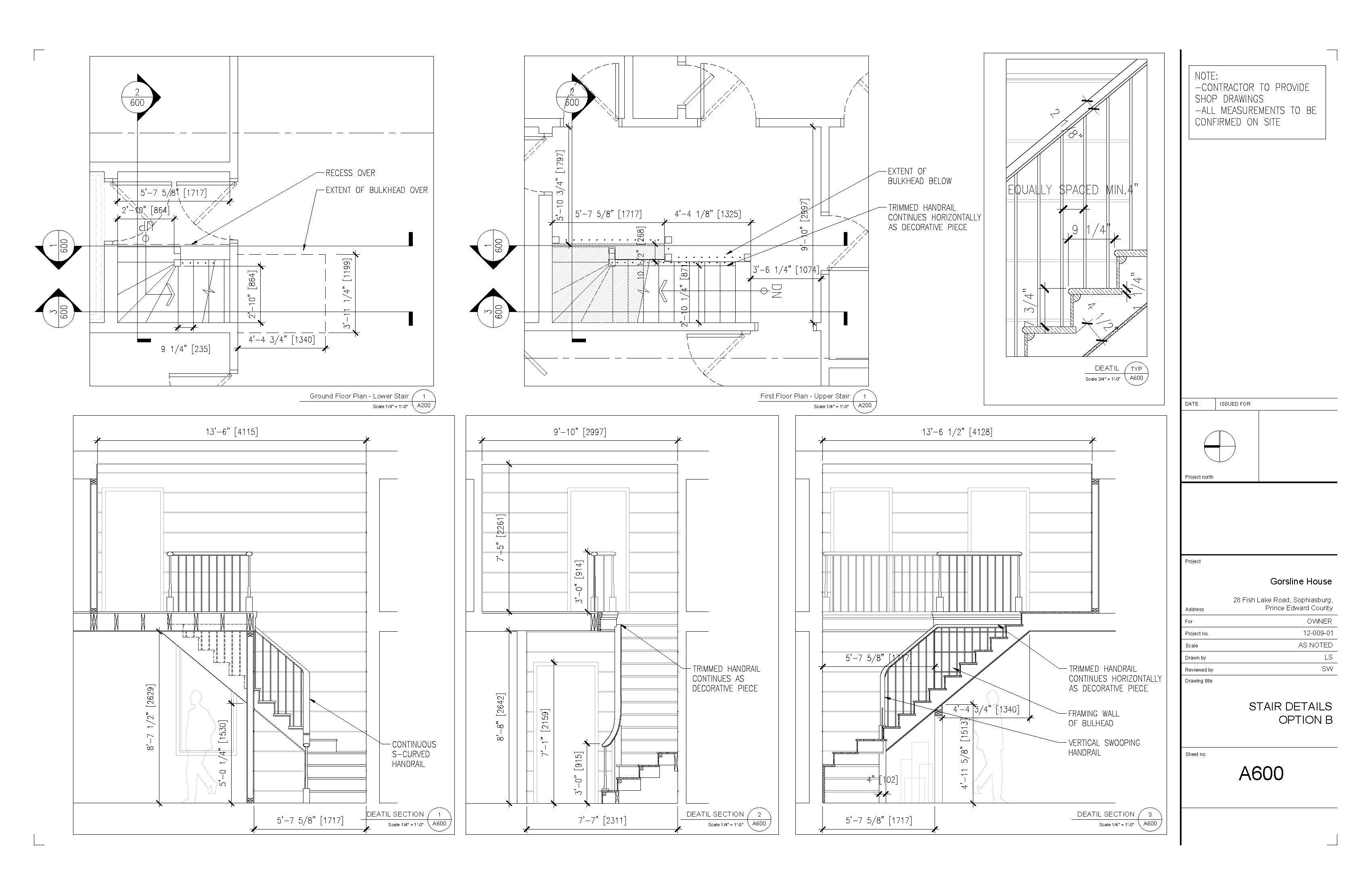 A600 Stair Detail 2