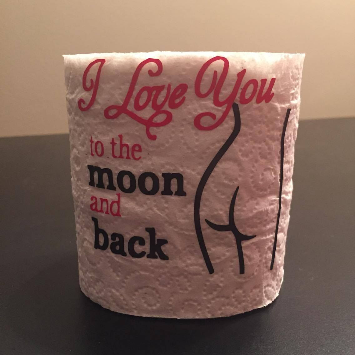 Valentines Toilet paper roll   Vinyl Projects Ive done!!   Pinterest