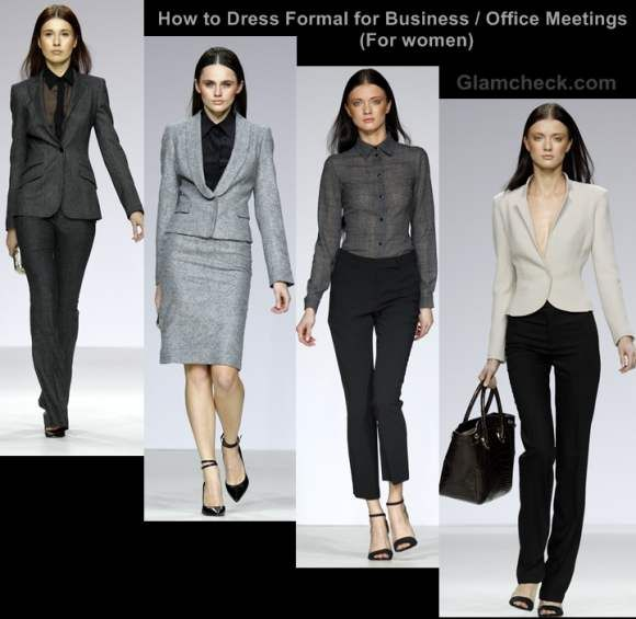 How Dress Formal For Business Office Meetings Women Love The 3 Lower Ones