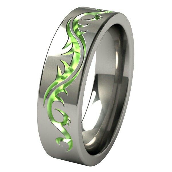 Awesome Men S Wedding Rings: Poison Ivy Ring For Him
