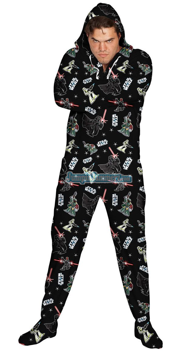 Star Wars Footie Pajamas For Adults Actually Exist. Judge me, I ...