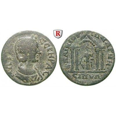 Römische Provinzialprägungen, Lydien, Magnesia ad Sipylum, Otacilia Severa, Frau Philippus I., Bronze 244-249, f.ss: Lydien,… #coins