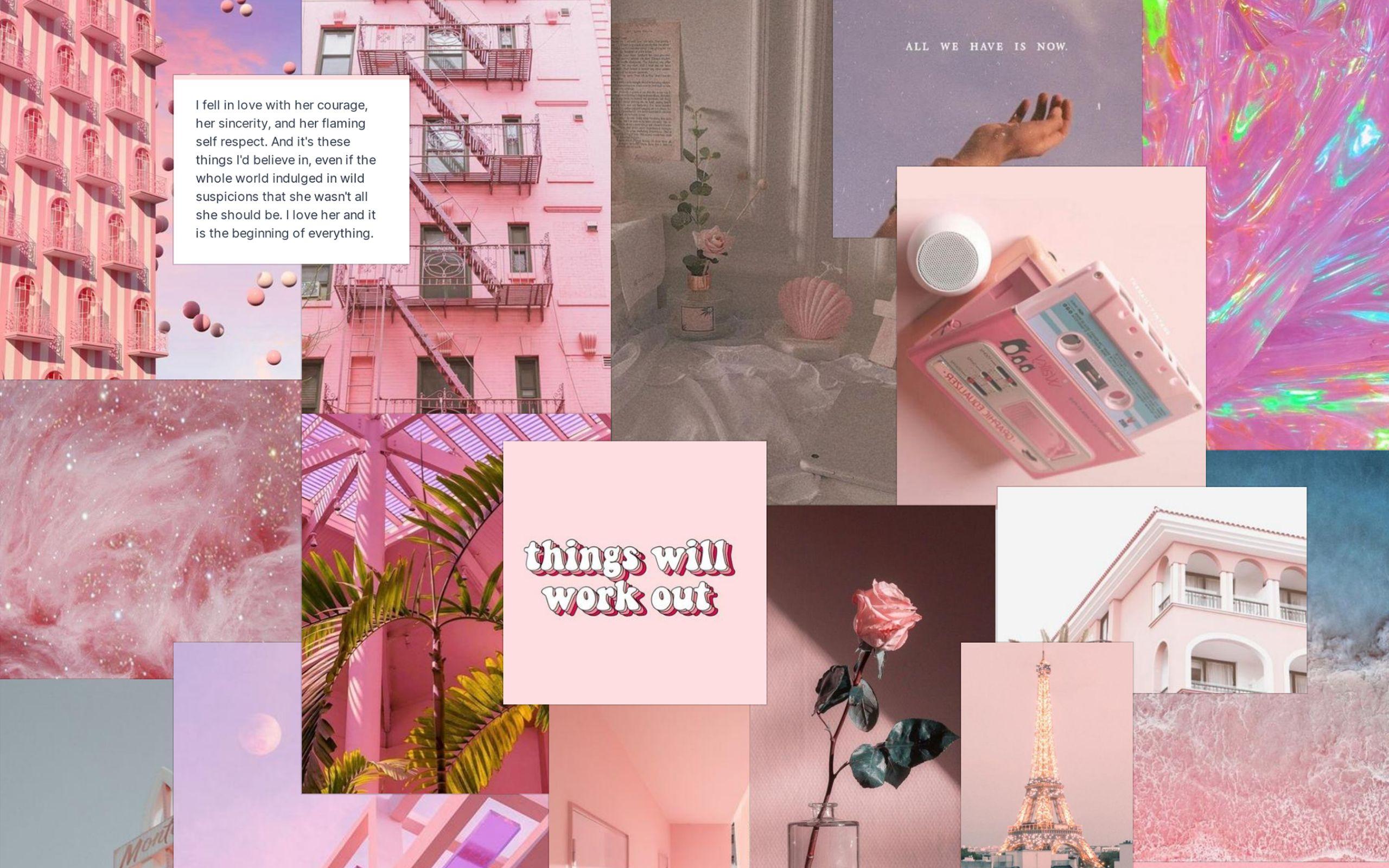 Pink Desktop Wallpaper In 2020 Pink Wallpaper Laptop Wallpaper Notebook Aesthetic Iphone Wallpaper