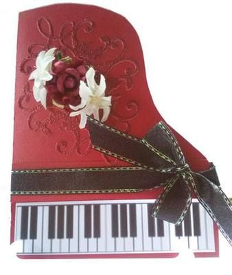 Piano For The Music Teacher My Sister Asked Me To Make A Birthday
