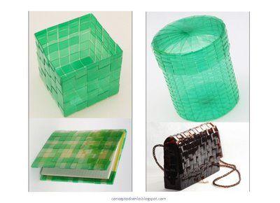reciclaje de plstico diseo industrial reciclar botellas botellas recicladas actividades escolares tareas tejidos reciclaje