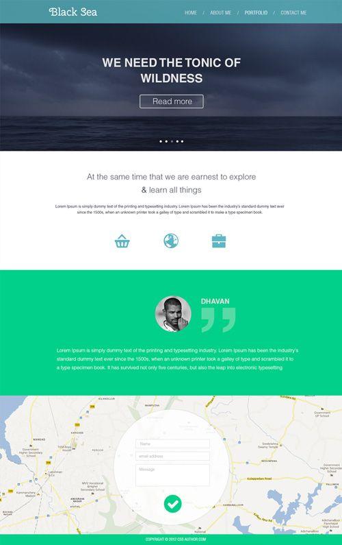 30 free responsive psd website templates webdesign resourses