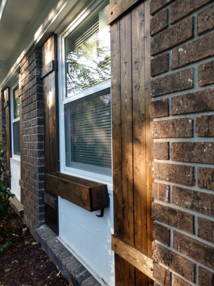 Diy farm shutters farm shutters exterior shutters