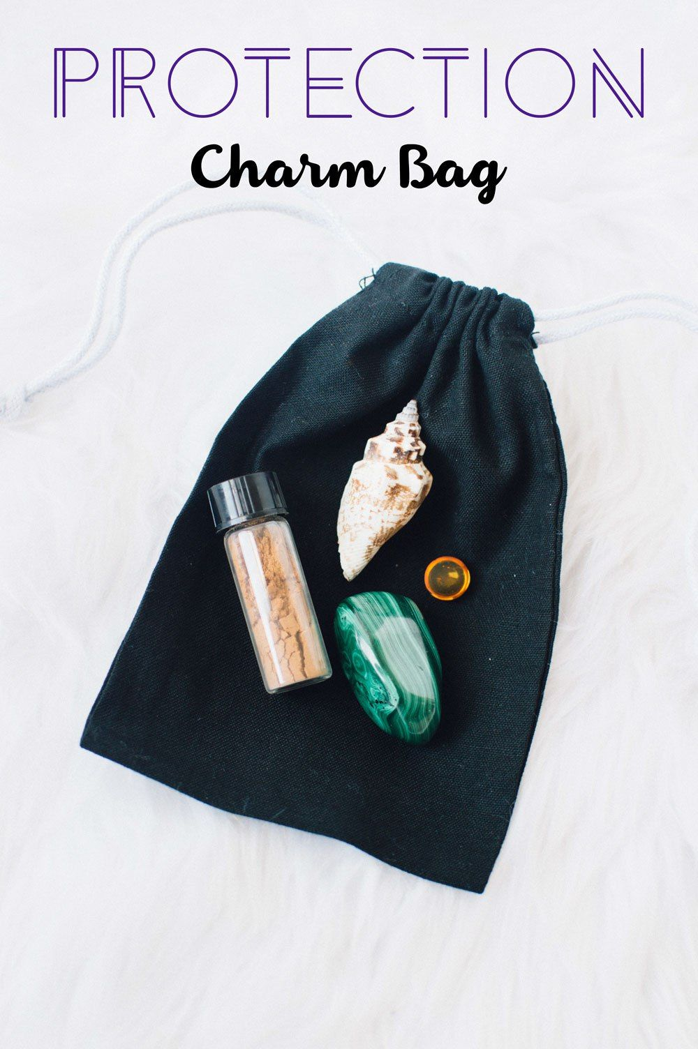 Magic Charm Bags For Protection Love Luck And Health