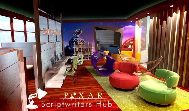 Pixar script writers hub google otsing