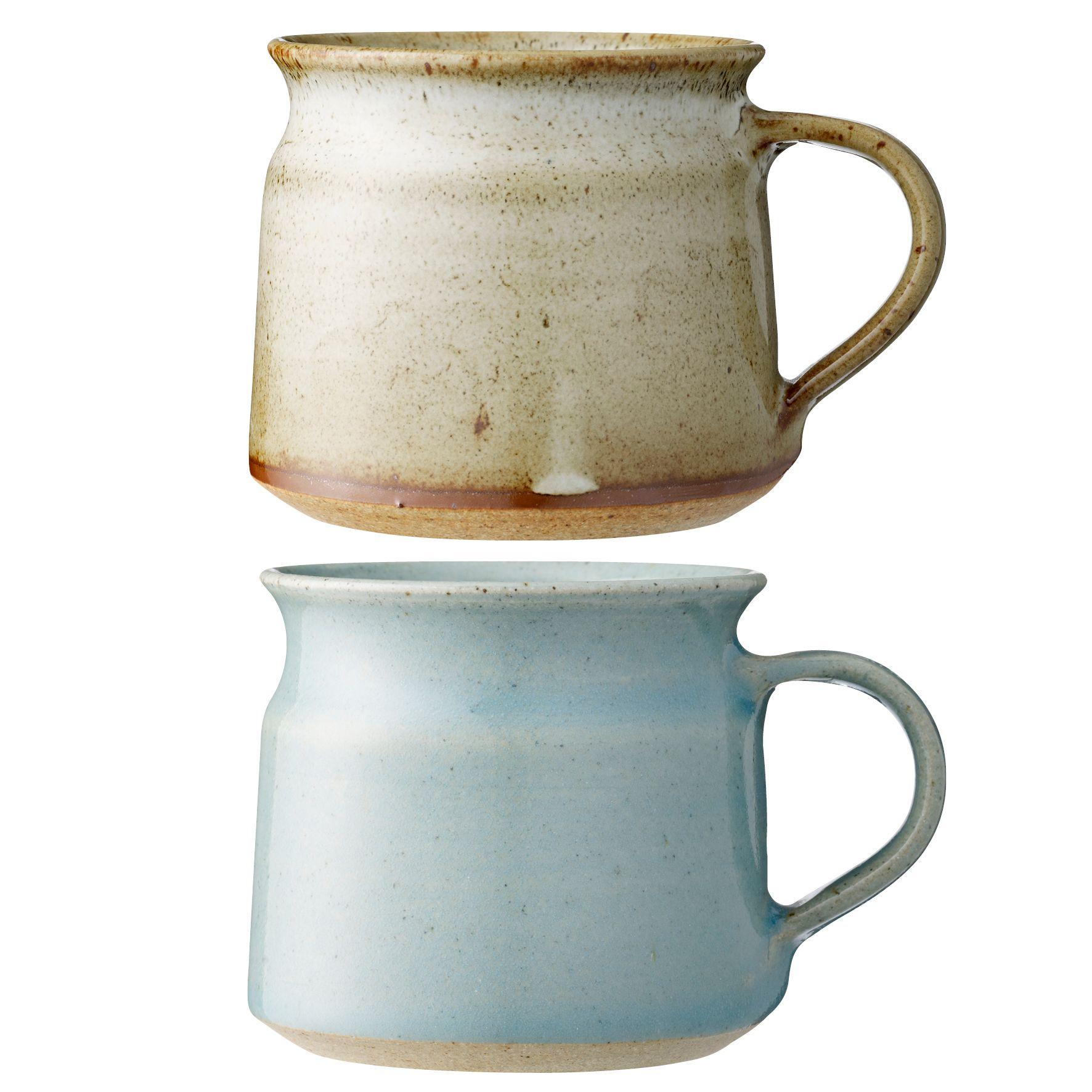 Fair trade mugs from Bloomingville. www.bloomingville.com   Kitchen ...