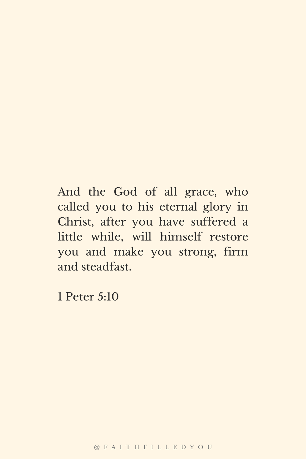 Bible Verse for Strength in Hard Times