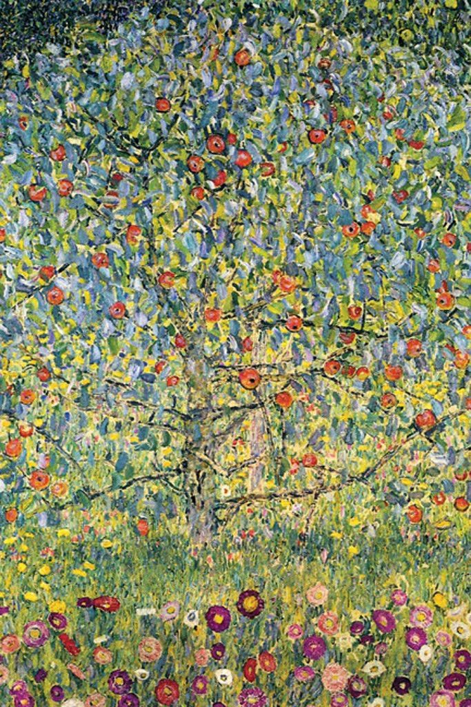 Apple Tree By Gustav Klimt Klimt Art Gustav Klimt Art Gustav Klimt