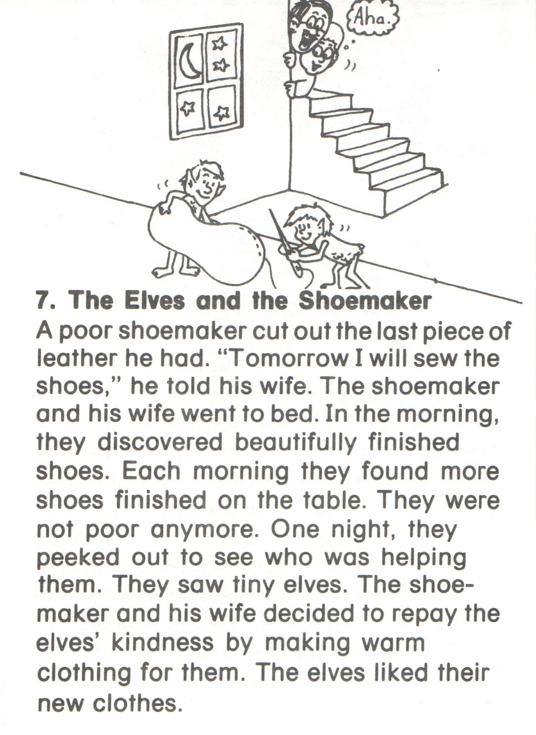 7 Elves And Shoemaker Story