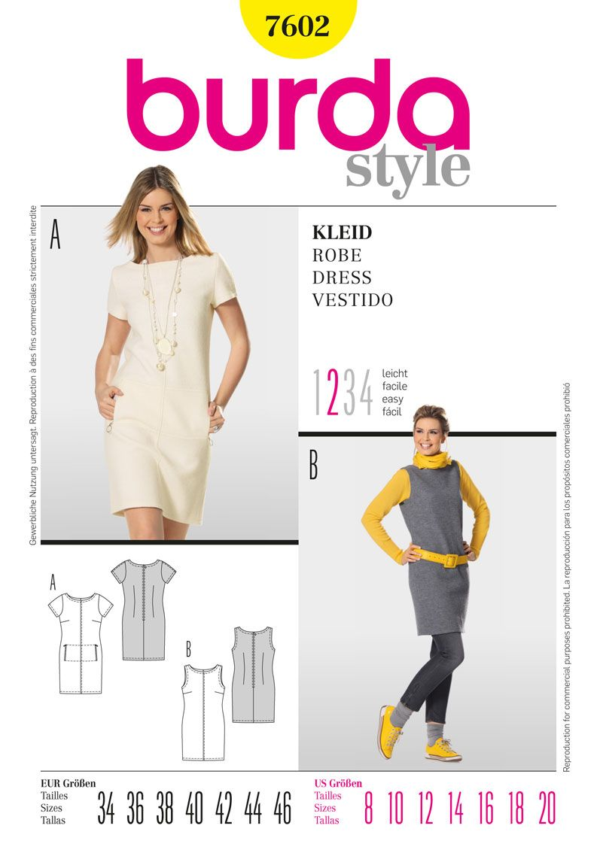 Simplicity Creative Group - Burda Style, Dress | sew blouse shirt ...