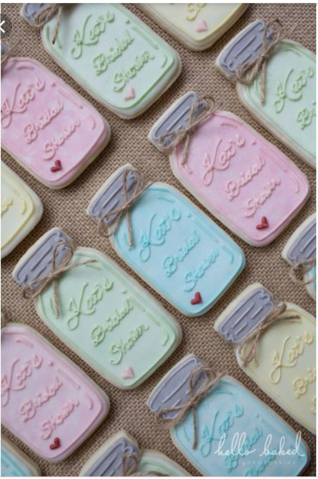 Mason jar sugar cookies