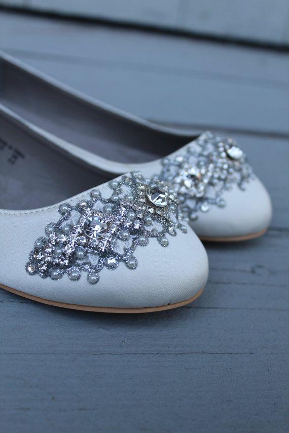 34 Gorgeous Bridal Shoes Bride Shoes Flats Wedding Shoes