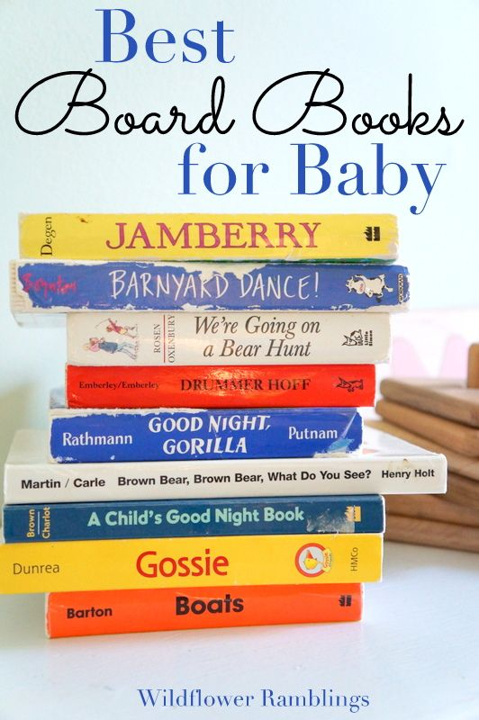 the best board books for baby | Wildflowers, Board and Books
