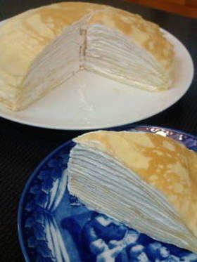 ホット ケーキ ミックス で ミル クレープ