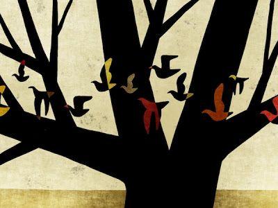 Toni Demuro Illustration Shop:  Tree 045   Print: Epson Paper:HahnemuehleWillia...